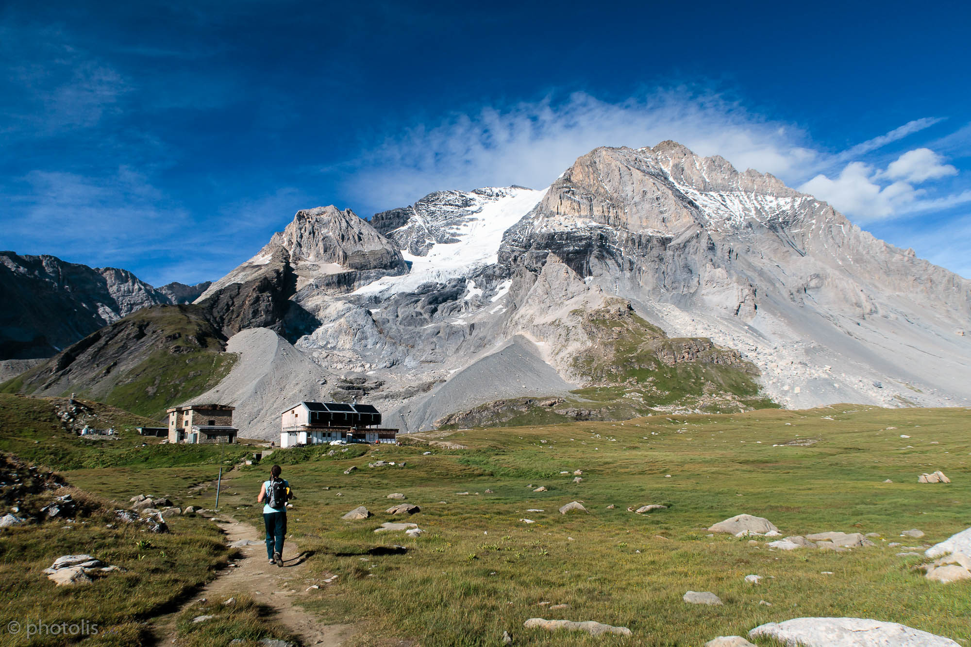 la Grande Casse et refuge du col de la Vanoise